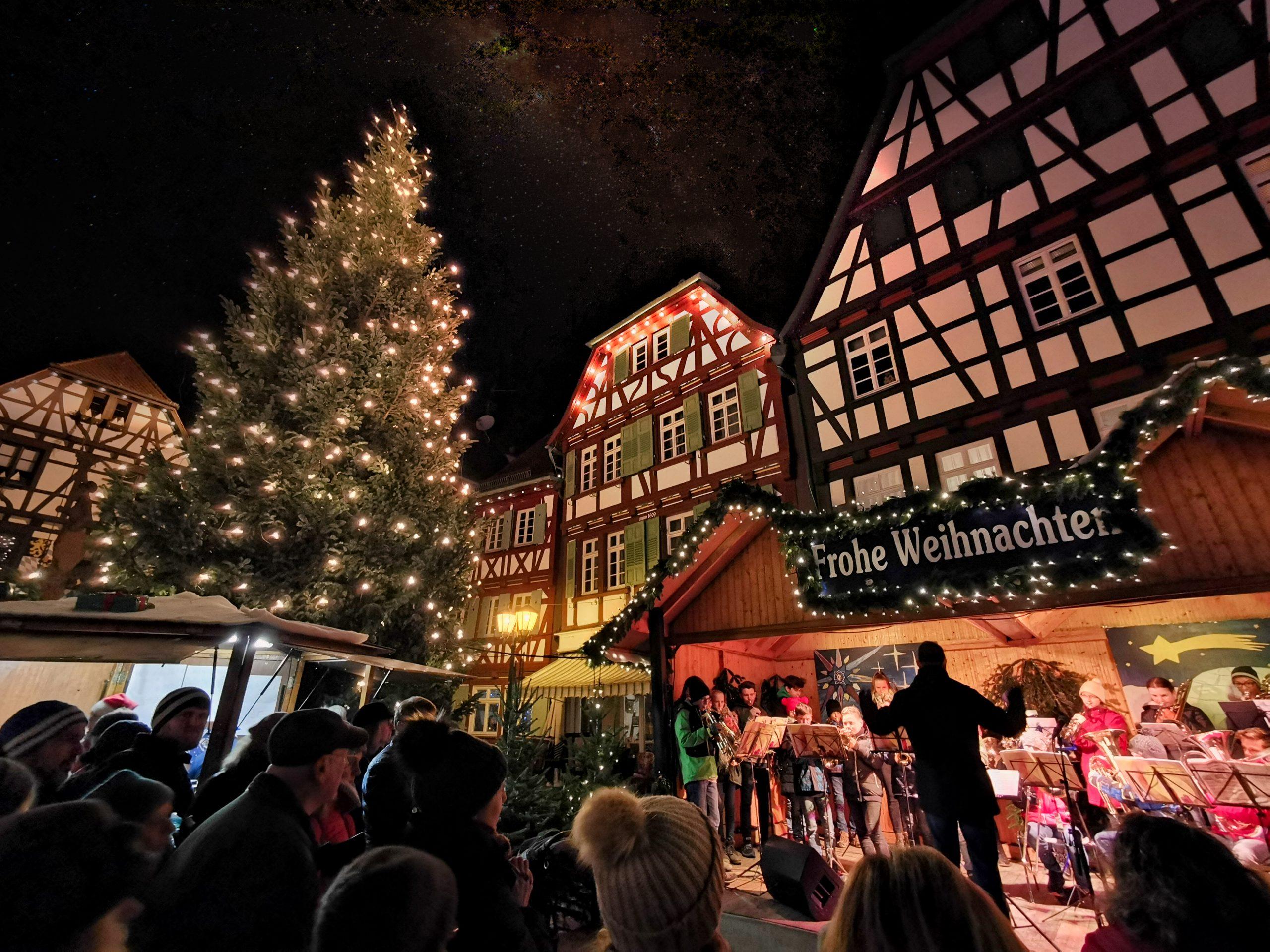 Weihnachtsmarkt Bretten - Hermann Fischer